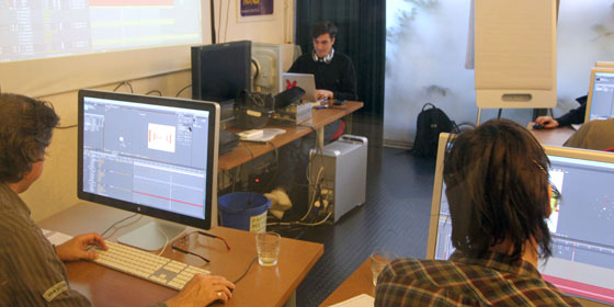 Formation After Effects Complet - octobre 2011 - formateur : Nanda Fernandez - VIdeo Design Formation, Paris.