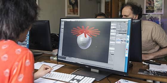 Formation Blender, animée par Olivier Borne, infographiste et spécialiste de l'impression 3D.
