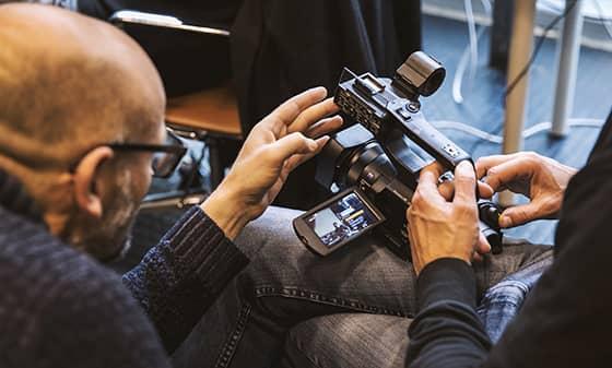 Caméra Sony PXW-X70