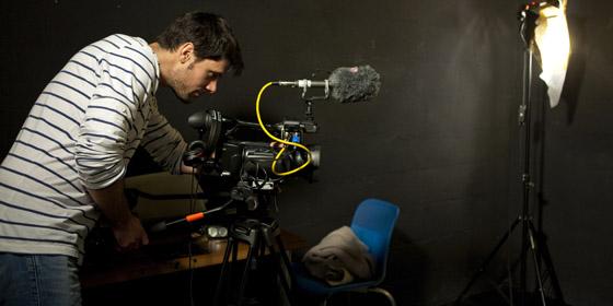 Julien Hamelin, formation prise de vues HD, décembre 2011