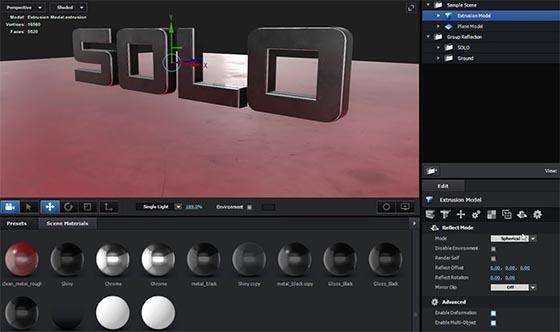 Element 3D, un plug in étonnant par sa puissance à concevoir des objets 3D assez complexes
