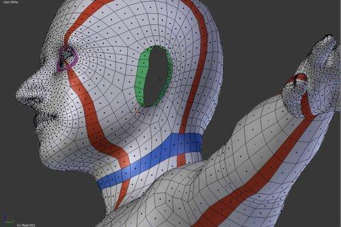 Modélisation complexe avec Blender