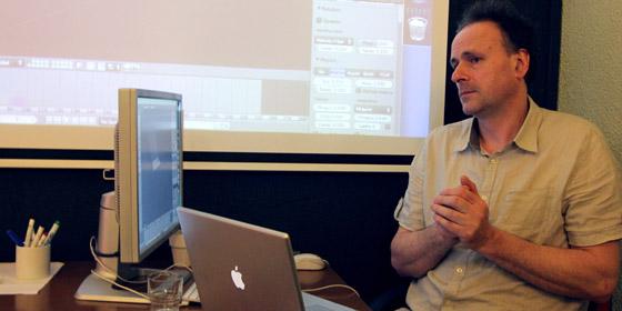 Olivier Borne, graphiste 3D Blender, formateur.