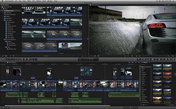 Video Design Formation propose des stages d'initiation à Final Cut Pro X, outil de montage révolutionnaire : puissant, ergonomique, rapide et tout intégré.