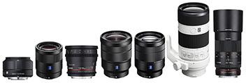 Tester les optiques en monture Sony E : Sony Zeiss, Sigma Art et Samyang, de 19 à 200mm, zooms 16-35, 24-70, macro 100mm, 50, 55 et 60 lumineux et/ou économiques...