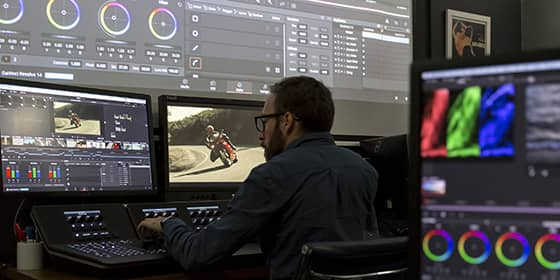 Pupitre Advanced Davinci Resolve