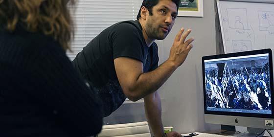 Gaston Marcotti, superviseur VFX, formteur certifié Nuke.