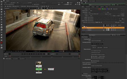 NUKE - outil nodal de compositing 2D et 3D, Video Design Formation, Paris.