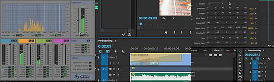 Premiere Pro CC offre de nombreux et puissants outils de traitement audio.
