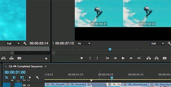 Premiere Pro CC propose plusieurs outils de trim.