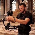 Bruno Guillard, chof opérateur et cadreur, spécialiste des reflex et gros capteurs, notamment...