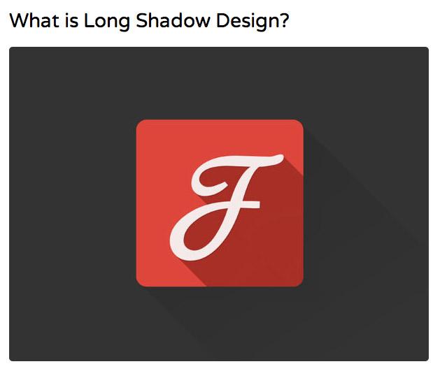 Les ombres, longues, fortes, épaisses... une nouvelle tendance ?