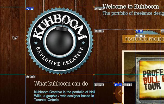 Photoshop pour le design d'un site web aujourd'hui