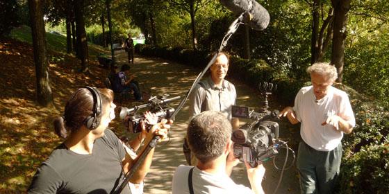 Tournage deux caméras avec prise de son à la perche... en mouvement !
