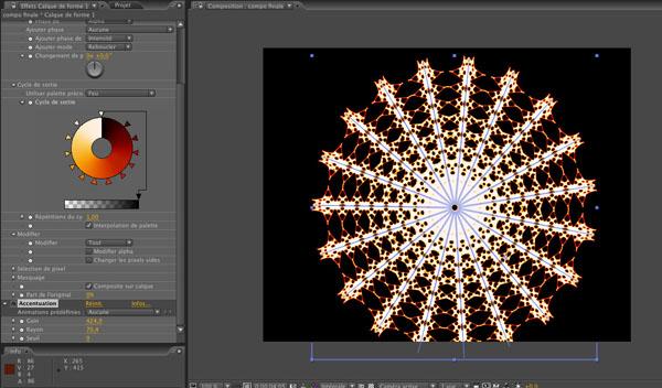 A partir de la version 8, After Effects propose les calques de formes, de formidables outils de création graphique