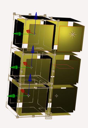 A partir de la version CC, After Effects propose la fonction d'accrochage de calques.
