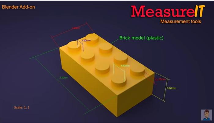 cotation l'addon measurlt permet de réaliser des cotations dans Blender
