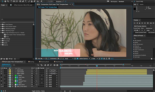 Adobe annonce une nouvelle mise à jour importante pour la creative cloud et ses applications vidéo, à l'occasion du salon IBC 2014. Sont concernés : Premiere Pro, After Effects, mais aussi SpeedGrade, Media Encoder, Audition, Prelude, Story...