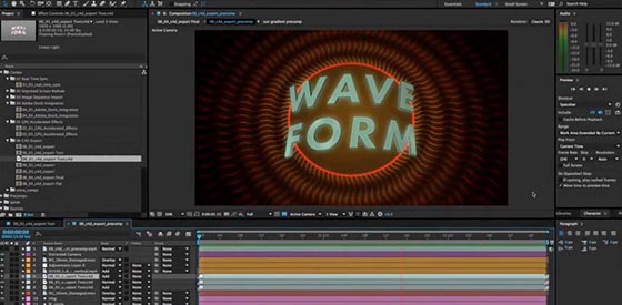 animation de texte avec after effects cc