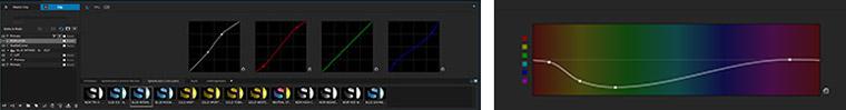 Les courbes d'étalonnage Adobe SpeedGrade CC 2014