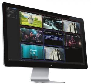 Movie Recoder de Softron, application-plug in d'enregistrement de X flux live à destination de logiciels de montage, pour enregistrer et monter immédiatement un ou plusieurs flux live