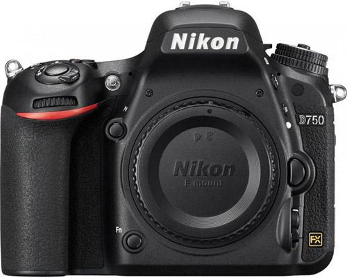 Le reflex Nikon D 750