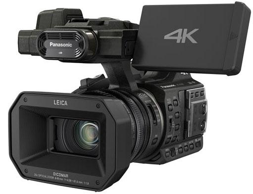Panasonic HC-X1000, caméscope 4K/UltraHD/FullHD à moins de 3000 Euros, avec prises XLR, 3 bagues sur le zoom, viseur et écran tactile orientable...
