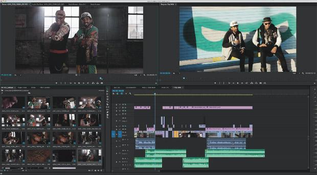 Adobe Premiere Pro CC : outil de montage moderne et professionnel. Montage natif de tous les codecs actuels, PC & Mac, multicam, dynamic link avec After Effects,...