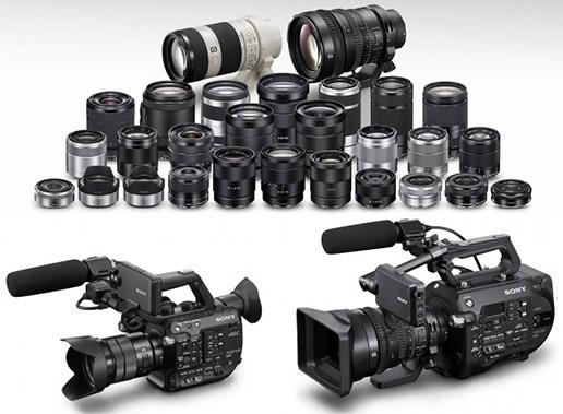 La gamme d'optiques Sony E grossit peu à peu, pour accompagner les Reflex Sony et caméras Sony FS5 et FS7