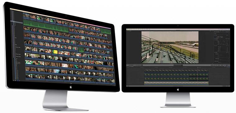Focus a été monté principalement sur un Mac Pro 8 coeurs