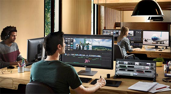 Station DaVinci Resolve Studio