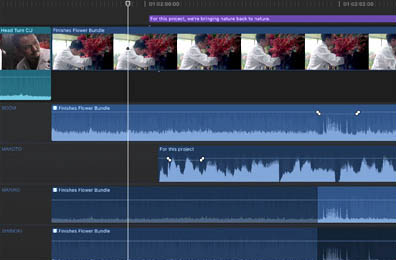 Le traitement audio par Final Cut Pro X