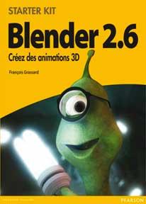 blenderPearsonDebut livres sur Blender