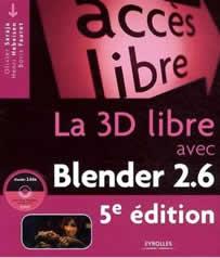 La 3D libre avec Blender est un livre de d'apprentissage de Blender