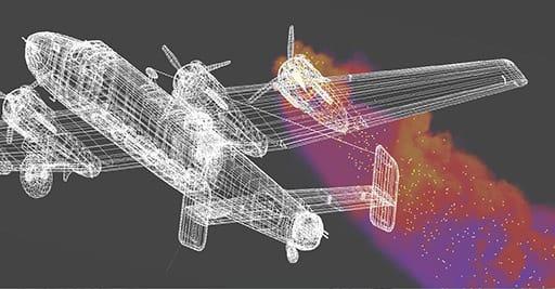 Fusion combine un espace 3D complet, la création 3D d'objets simples, l'import 3D, avec un système particulaire 3D en interaction avec les objets gérés dans cet espace...