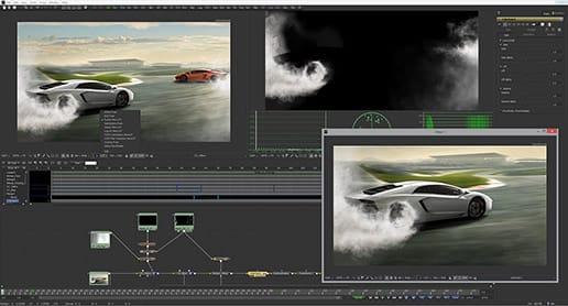 Fusion est un logiciel complet proposant habillage, animation et composition 3D.