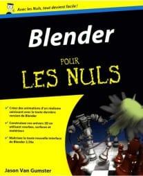 pour Les Nuls Blender est un ouvrage de formation Blender