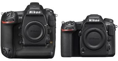 Nikon D5 et D500