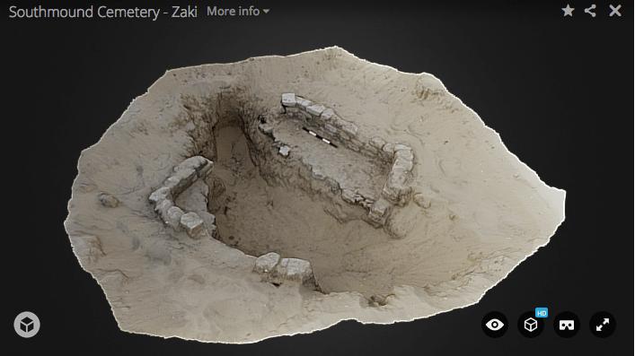 Blender archéologie