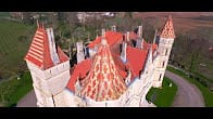Drône: châteaux du Lot-et-Garonne