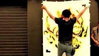 ShazArt, pochoirs, street art, par Alexandre.