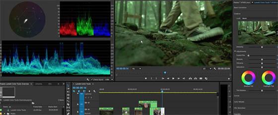 Adobe Premiere Pro CC Lumetri