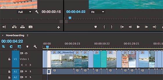 timeline Premiere Pro