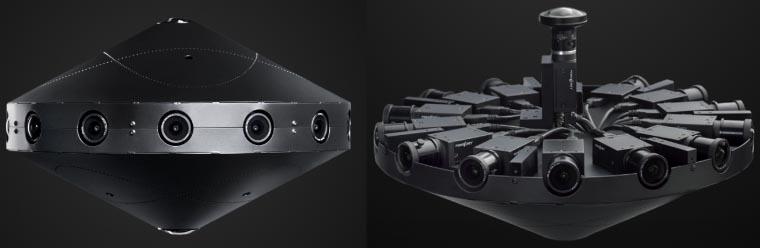 """La caméra Facebook Surround 360, une conception développée par Facebook et """"éditée"""" par différents constructeurs..."""