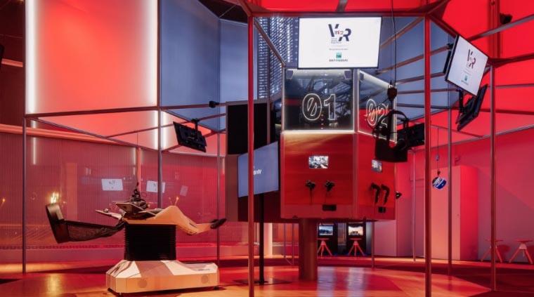 Salle VR/360 au cinéma MK2 Bibliothèque (Paris)