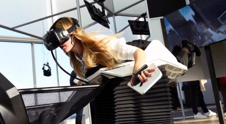 Simulation de vol en VR/360 au cinéma MK2 Bibliothèque (Paris)