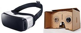 Samsung Gear et Google Cardbox