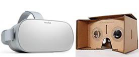 2 casques VR économiques et faciles à utiliser : Oculus Go et Google Cardbox