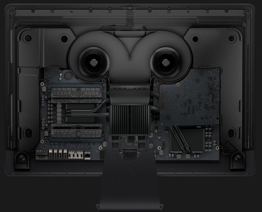 Apple dévoile sa conception interne, qui devient un objet esthétique ! ...une conception interne de haut niveau, dans un volume très faible, un refroidissement sur mesure extrêmement silencieux...
