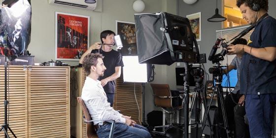 Formation Reflex avec Germain Lalot, directeur photo et réalisateur, formateur expert des boîtiers reflex